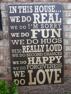 House = family = love ❤