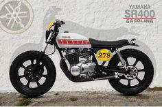 yamaha#yamaha sr400#scrambler#cafe racer#street tracker#motorcycles special by old school garage-trieste