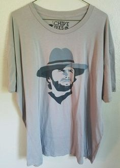 The Chive XXXL 3XL rare Clint Eastwood t shirt Chivery KCCO on Graphic Tee #theCHIVERY #GraphicTee