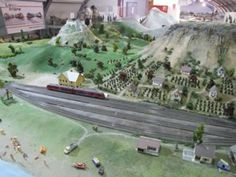 Modelleisenbahn Ausstellung in Keszthely - Bahnhof