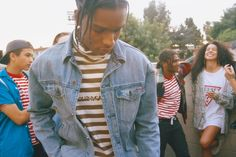 ASAP Rocky Collabs with GUESS