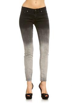 2b | Dip Dye Ombre Skinny Jean