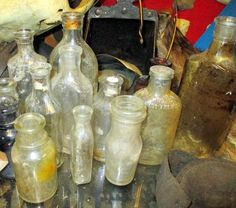 Old Bottles from the Museum