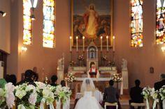 カトリック金沢教会の結婚式