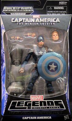 Marvel Legends Mandroid Series Movie Captain America