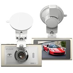 """BUIEJDOG 2.7"""" Dash Cam FHD 1080P Car Camera 170° Wide Angle Lens Video Recorder Built-in G-Sensor Motion Detection Loop Recording and Super Night Vision - Gold"""