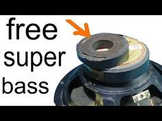 How to make a subwoofer have more bass. Tips to make bass speakers sound better. Speaker Box Diy, Diy Bluetooth Speaker, Speaker Box Design, Diy Speakers, Diy Subwoofer, Subwoofer Box Design, Homemade Speakers, Custom Car Audio, Car Audio Installation