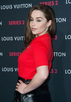 Emilia Clarke at the Louis Vuitton 'Series 2′ The Exhibition event in Hollywood, California on February 5th, 2015.