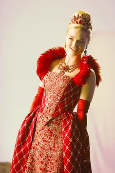 The Red Queen, from the Once Upon a Time spinoff Once Upon a Time in Wonderland on ABC.