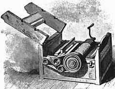 A cotton gin is a machine that quickly and easily separates cotton fibers from their seeds, allowing for much greater productivity than manualcotton separation. The fibers are processed into clothing or other cottongoods, and any undamaged cottonwas used for clothes.