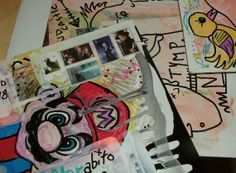 Mail Art for you by spitfaced on Etsy, $9.00