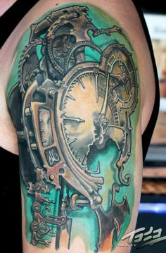 1000 images about tattoo uhren on pinterest clock tattoos tattoo artists and hourglass tattoo. Black Bedroom Furniture Sets. Home Design Ideas
