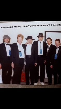 In 1989, Stevie Ray Vaughan was part of an all-star blues lineup that played a concert for the inauguration of George H.W. Bush.