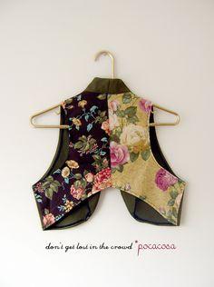 flower/roses vest*