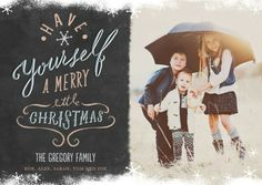 Card Design: Merriest Little Snow, designed by Petite Alma  |  #ChristmasCards
