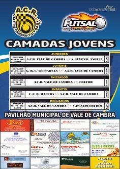 ACR: Futsal [formação] > 8 e 9 Fev 2014 #ValeDeCambra #futsal
