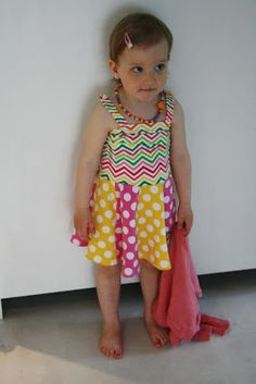 A dress with dots