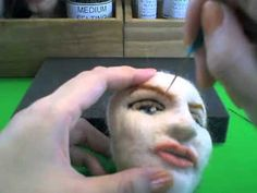 Needle Felting Doll#4 羊毛でTwiggyを作る!