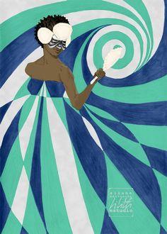 Yemonja by Eliane Bettochi | Lilith Studio