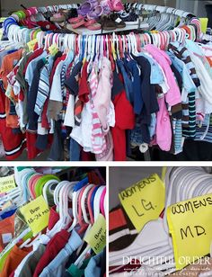 Host an Organized Garage / Yard Sale  Repinned by www.movinghelpcenter.com Follow us on Facebook!