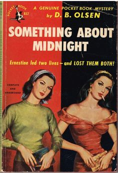 pinterest.com/fra411 #pulp Something About Midnight