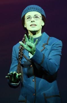Teal Wicks as Elphaba