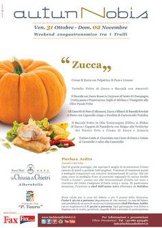 """Weekend enogastronomico tra i Trulli 31 Ottobre 02 Novembre 2014 """"Zucca""""  http://www.lachiusadichietri.it/it/pacchetti-eventi-e-festivita/weekend-enogastronomico-tra-i-trulli-31-ottobre-02-novembre-2014--%E2%80%9Czucca%E2%80%9D-147.html"""