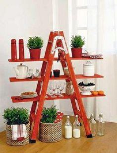 Econotas.com: Diseño, Decoración y Reciclaje. Escaleras Convertidas en Muebles