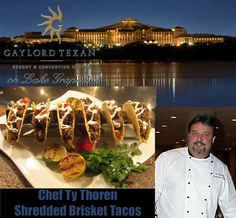 Chef Ty Thoren of the Gaylord Texan Hotel in Grapevine TX, was planning the opening of a new family style Mexican Restaurant in their complex. Chef Ty needed our large Six Shooter to present his tacos on for the guests. Here is an image of the very first tacos he used to present our Taco Rack Six Shooter to the corporation board of directors. Chef Ty has also ordered some from our Home Series, for his personal use at home.