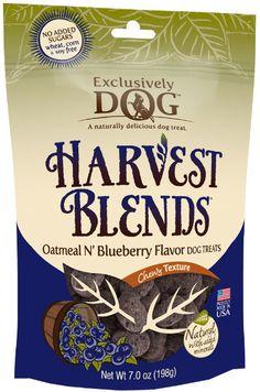 harvest blends - oatmeal n' blueberry flavor 7.0 oz Case of 12