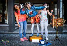 Human Statues meeting @AgitÁgueda2016 - July 2nd and 3rd  #agitagueda #agitagueda2016 #agitaguedaartfestival #agueda #streetart #festival #urbanart #umbrellaskyproject