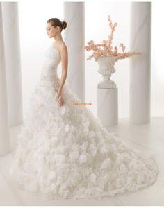 Trumpet/Mermaid Spring 2014 Zipper Wedding Dresses 2014