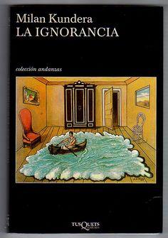 La ignorancia / Milan Kundera #lecturadeverano #librodeverano