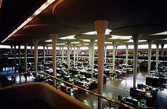Johnson Wax Headquarters, Frank Lloyd Wright, 1936 bis 1939, Racine (Wisconsin)