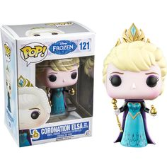 Buy Disney Frozen Coronation Elsa with Orb Exclusive Funko Pop! Vinyl from Pop In A Box UK, the home of Funko Pop Vinyl subscriptions and more. Disney Pixar, Pop Disney, Disney Frozen, Hot Topic Disney, Elsa Frozen, Pop Figurine, Figurines Funko Pop, Funk Pop, Pop Vinyl Collection