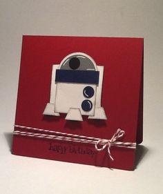 R2D2 - punch art card