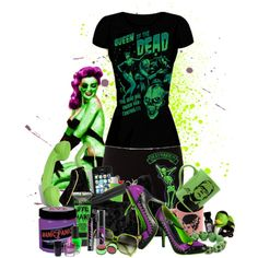 """""""Psychobilly an Zombie girls"""" by rorie-burke on Polyvore"""