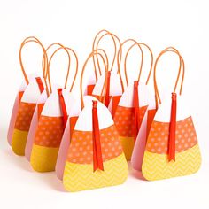 Candy Corn Treat Gift Bags (Set of 6) Price $11.16 @ Papyrus