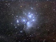 l'ammasso stellare delle Pleiadi
