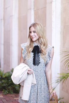 Dainty Floral Print Dress | A Daydream Love