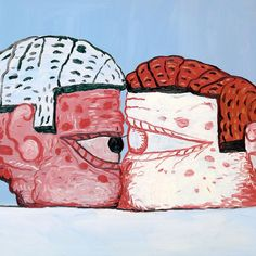 """""""Painting is an illusion, a piece of magic, so what you see is not what you see."""" PhilipGuston"""
