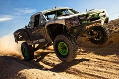 """Ballistic"" BJ Baldwin Monster Trophy Truck I want one of these ughhhh it'd be so much fun"