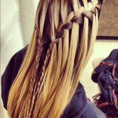 waterfall braids | Tumblr