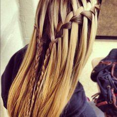 waterfall braids | Tumblr