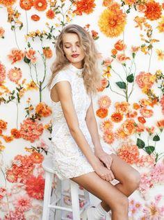 floral backdrop #flowerwall #roses #backdrop #newtrend #2016 #blumendekoration #hochzeit #photobooth #wedding #eventdesign #scheenes