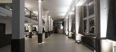 Spreegalerie Alexanderplatz - schwarz-weiße Event Location Deutschland #weiß #black #location #event #eventinc #veranstaltung #ort #white #allblackwhite #ohne #farben #inspiriert #allwhiteeverything