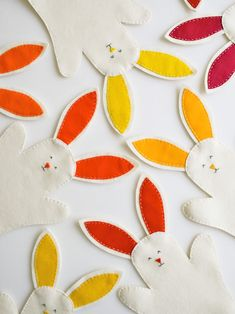 DIY Bunny Puppets for Easter