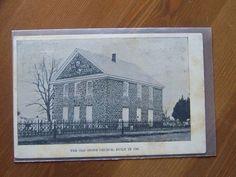 Fairton NJ New Jersey Old Stone Church  1780 near Bridgeton