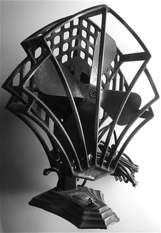 Form and function: an electrical deco fan from the Robbins & Meyers company 1934.......