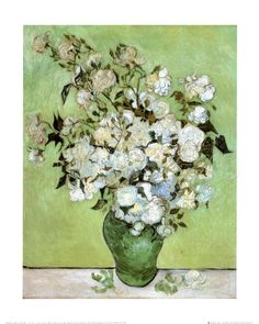 A Vase of Roses, c.1890 Poster by Vincent van Gogh at AllPosters.com